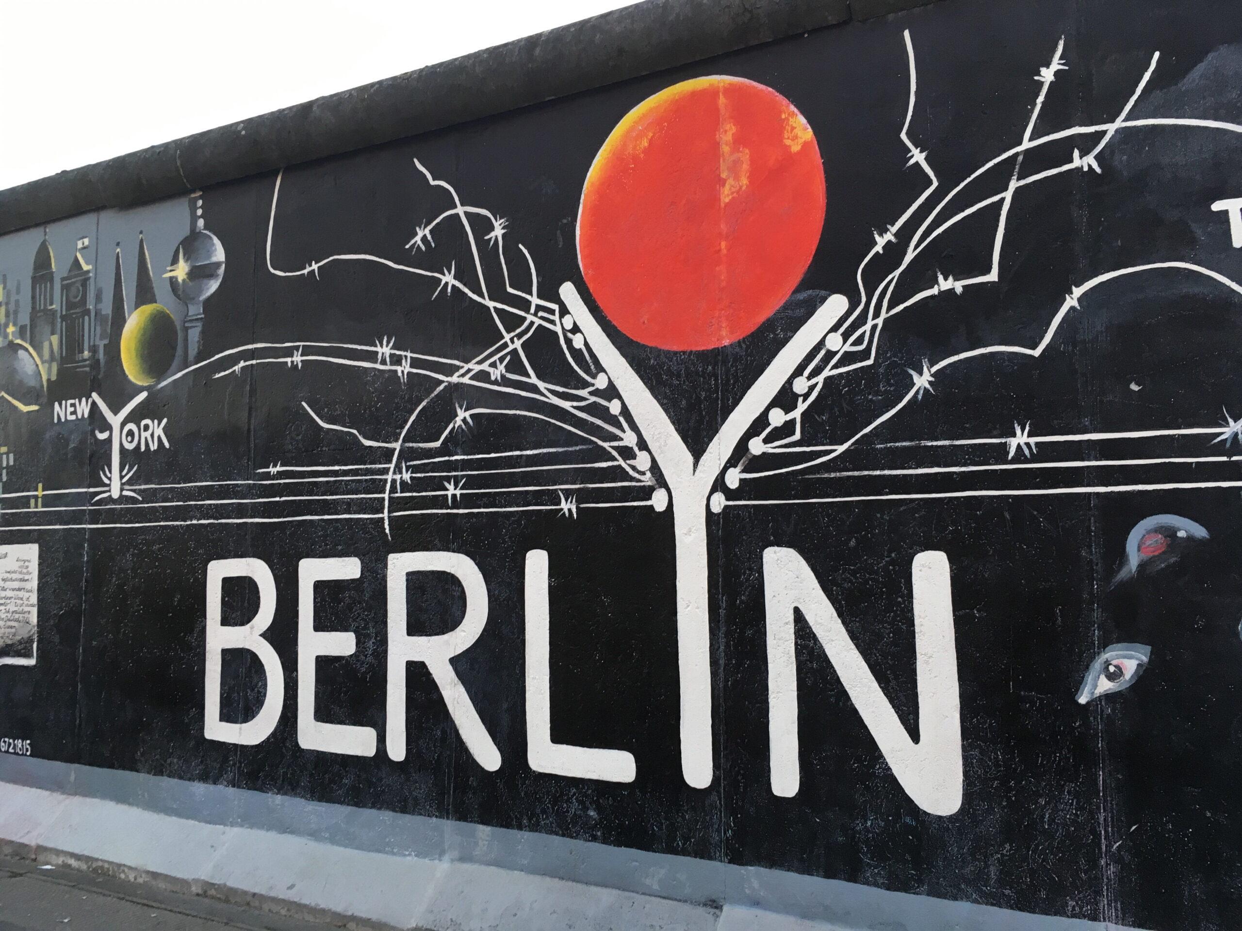 Da non perdere a Berlino: East Side Gallery 1