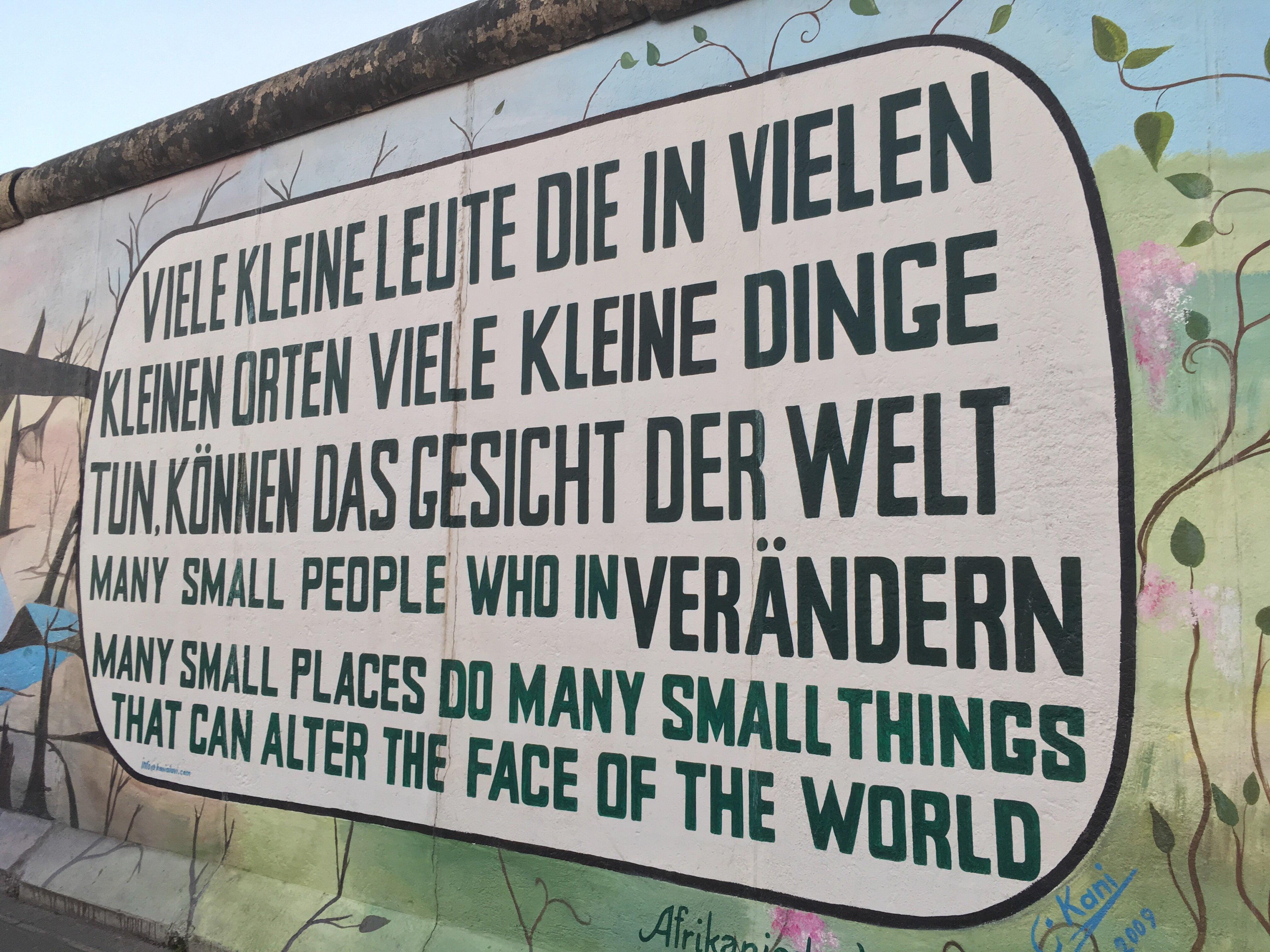 Da non perdere a Berlino: East Side Gallery 2