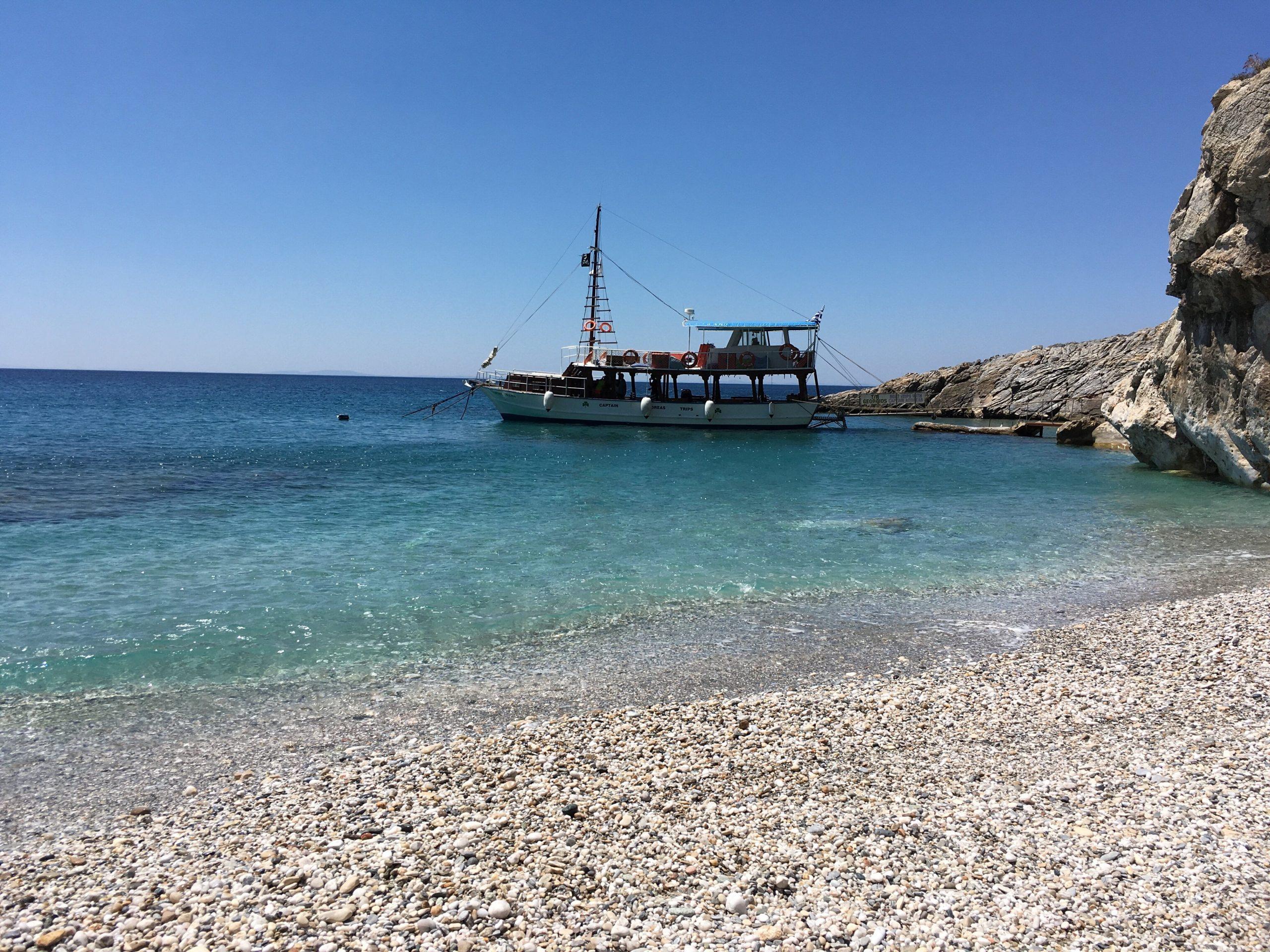 Una giornata in barca a Samos con Captain Andreas 40