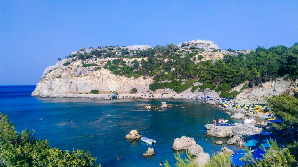 Anthony Quinn's Bay - Rhodes, the 6 most beautiful beaches