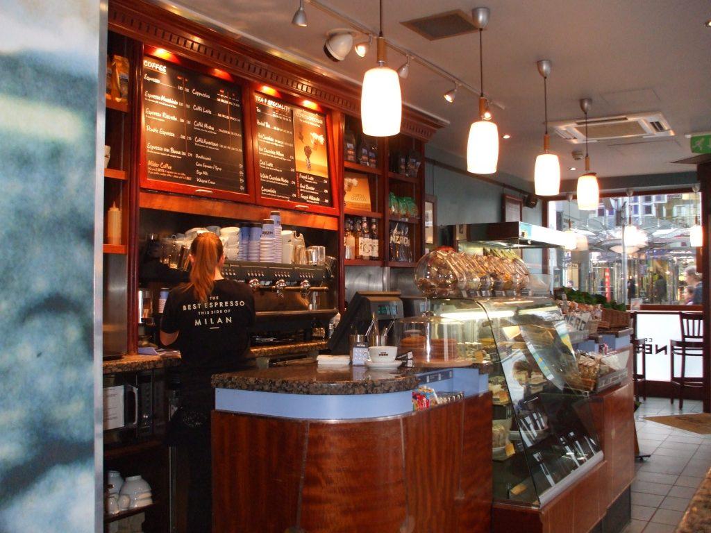 Lavorare a Londra_Caffè Nero