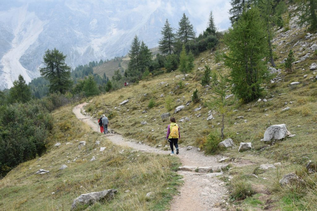 Discesa_trekking cristo pensante