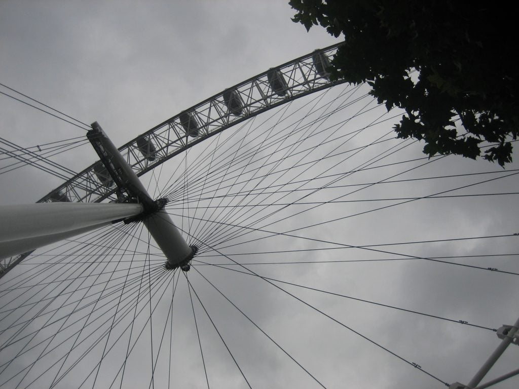 lavorare a Londra_London Eye