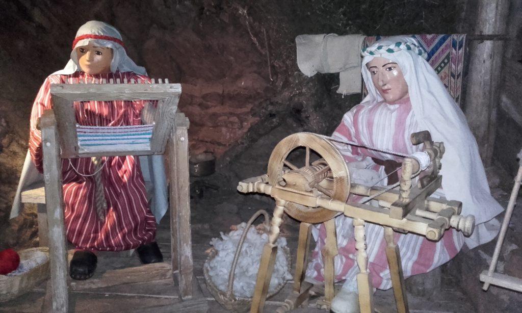 Natale in Val di FIemme - presepe Varena