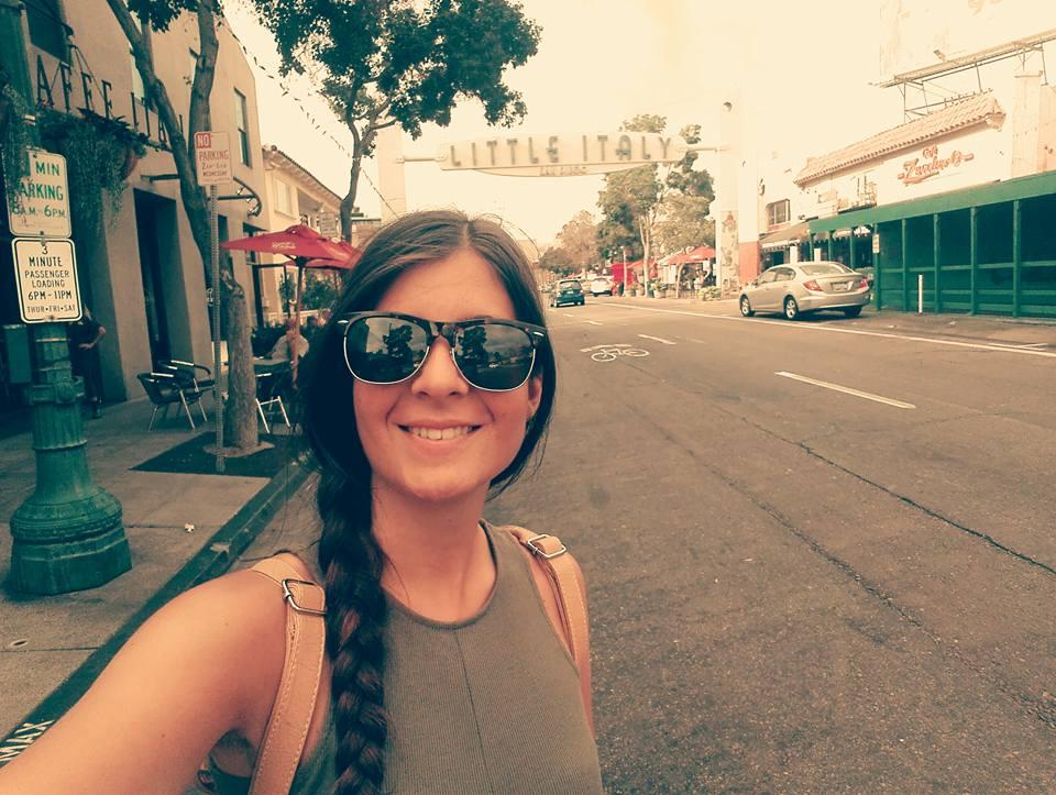 Lucia a San Diego
