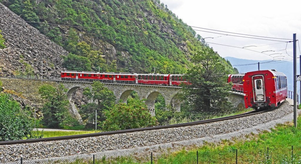 Travel Dreams 2020_trenino del Bernina