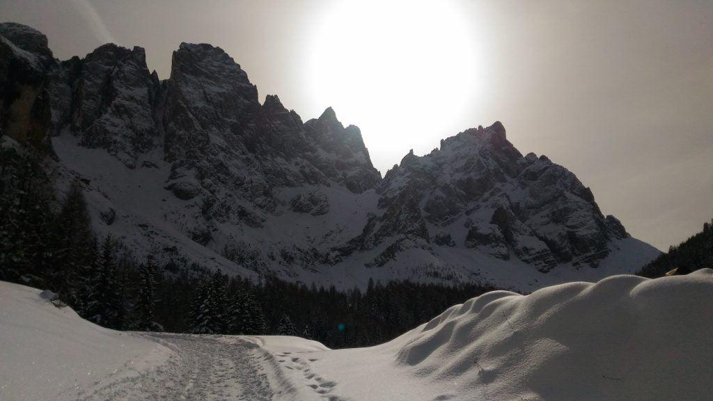 Passeggiata invernale in Val Venegia _ montagne