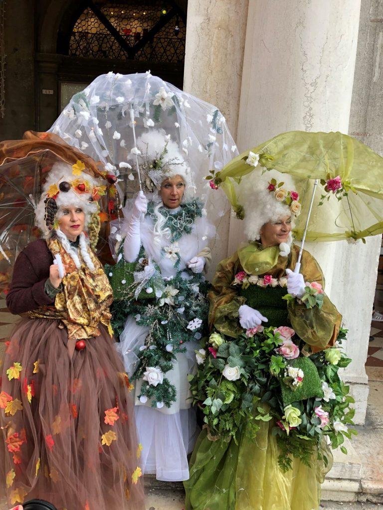 Le 3 stagioni_ Carnevale di Venezia