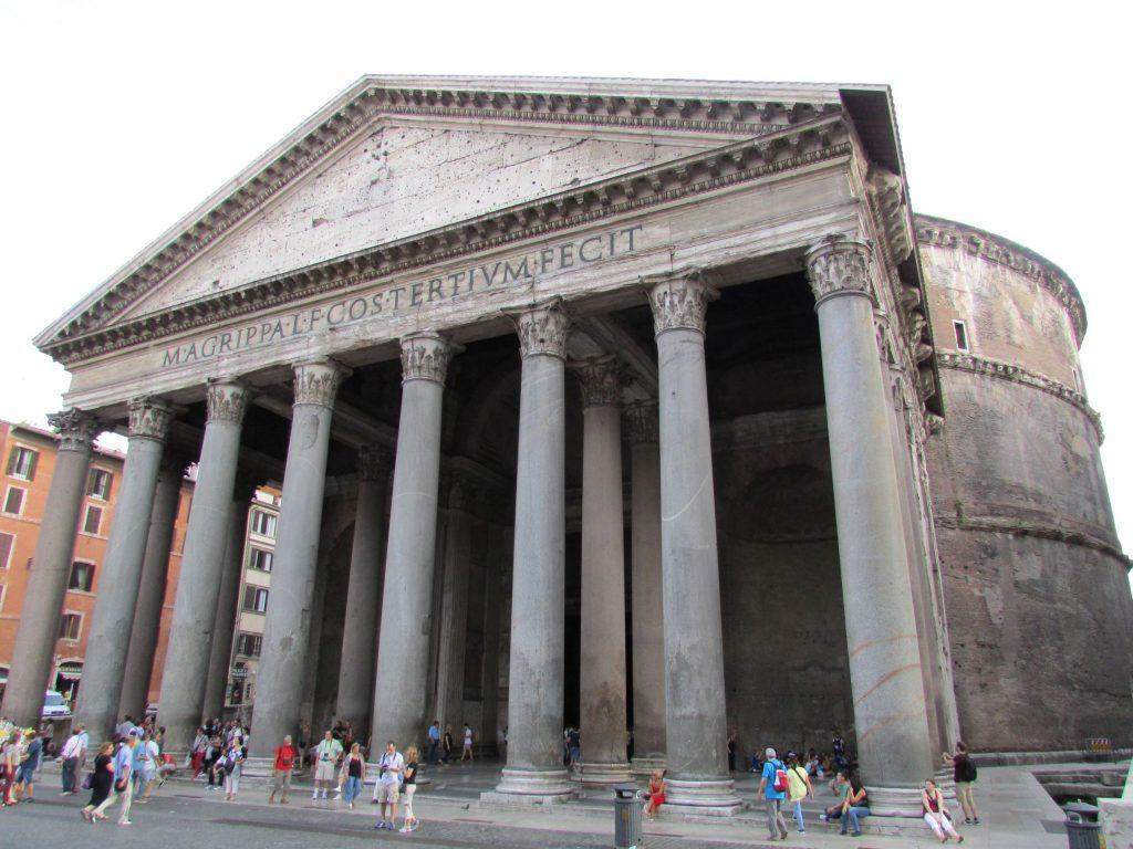 Pantheon_walk intorno a Roma