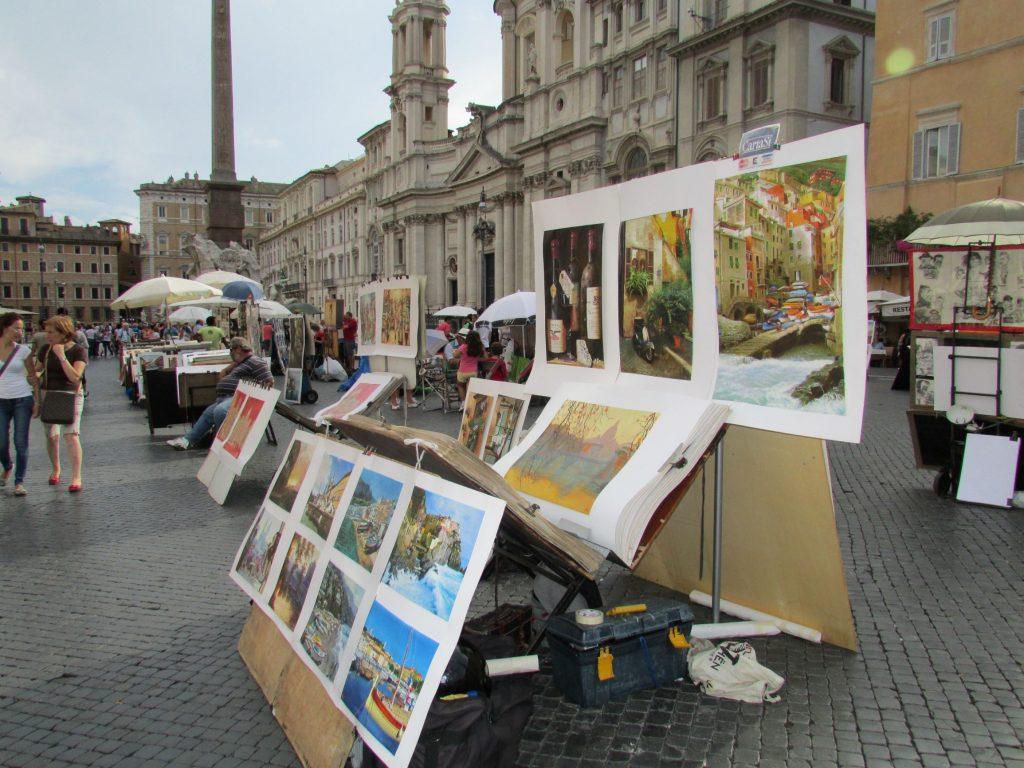 Piazza Navona Roma_cosa vedere in un pomeriggio a Roma