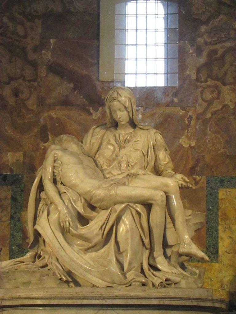 La pietà_Michelangelo
