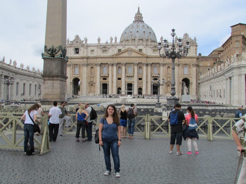 Eli in St Peter's Square