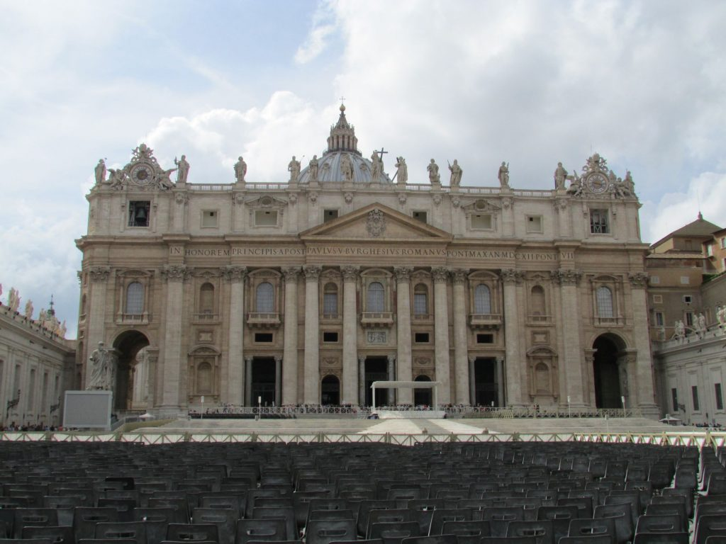 Cosa vedere a Roma a piedi in un pomeriggio: Piazza San Pietro
