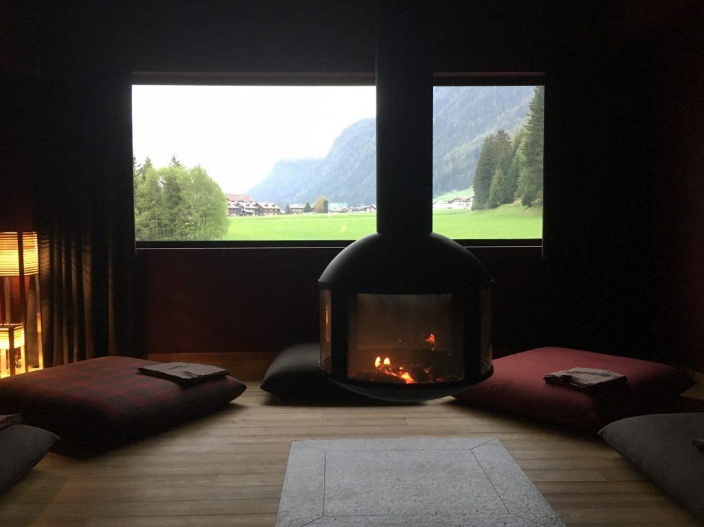 Relax e benessere a QC Terme Dolomiti_Stanza dei cuscini