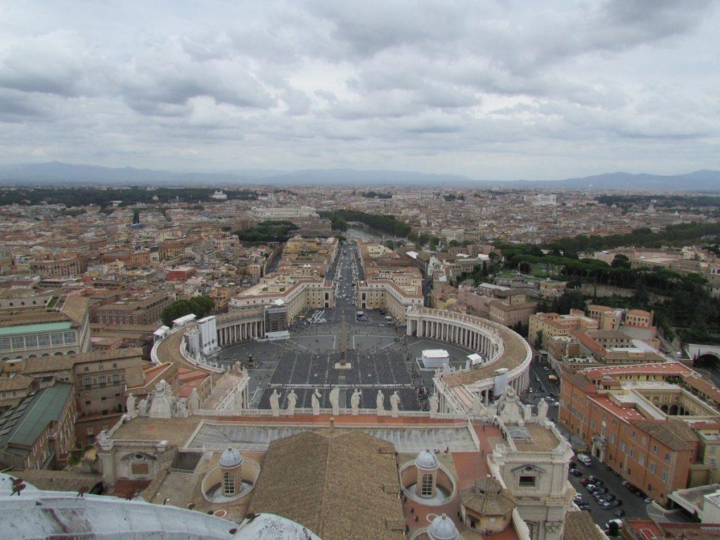 Vista dalla Basilica di San Pietro