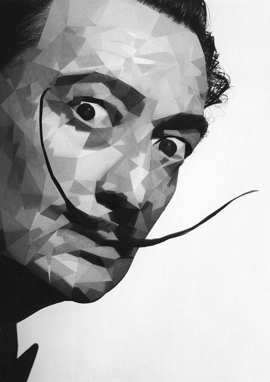 Salvador Dalì_ritratto