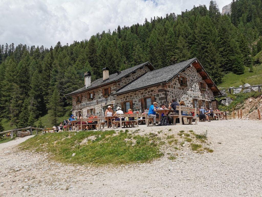 Malga Venegiota in Val Venegia