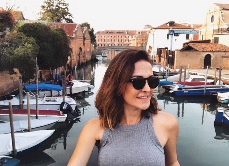 Move to Italy_Ceren enjoying her new life in Venice