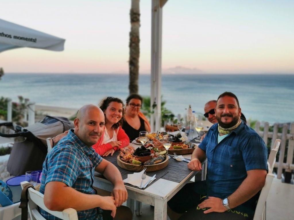 Famiglia allargata a Kos