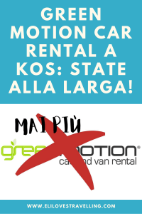 Green Motion Car Rental a Kos: state alla larga! 1