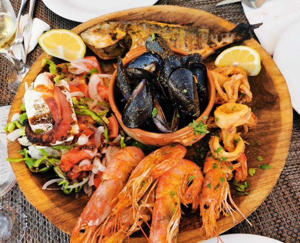 Mix di pesce per due_dove mangiare a Kos_Cavo Greco