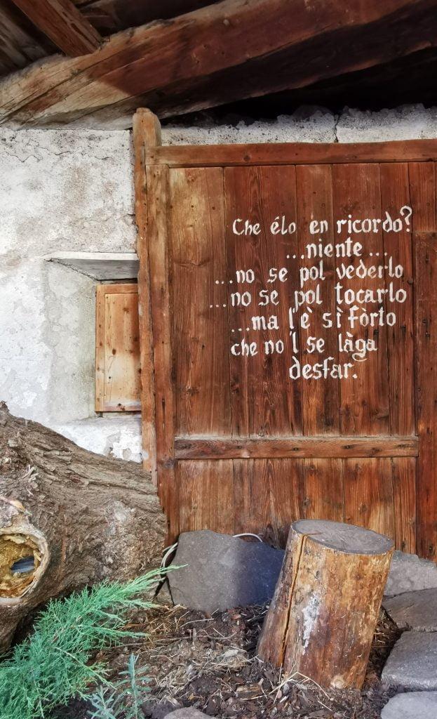 Museo Casa Begna: il museo della gente a Ville di Fiemme, in Trentino 1