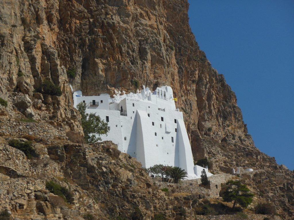 Monastero di Hozoviotissa Amorgos