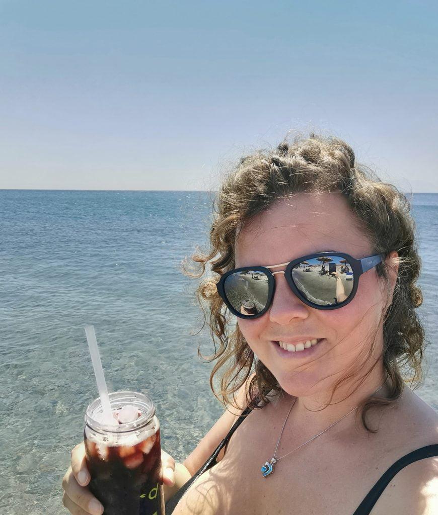 Elisa a Kardamena Beach_Kos