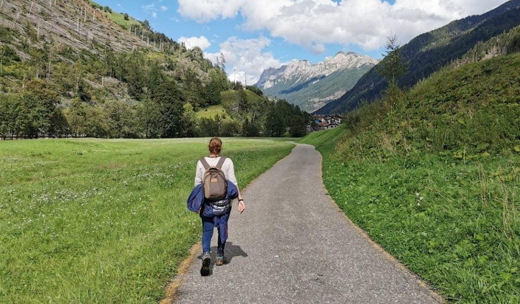 passeggiata da Hotel Foresta a Moena