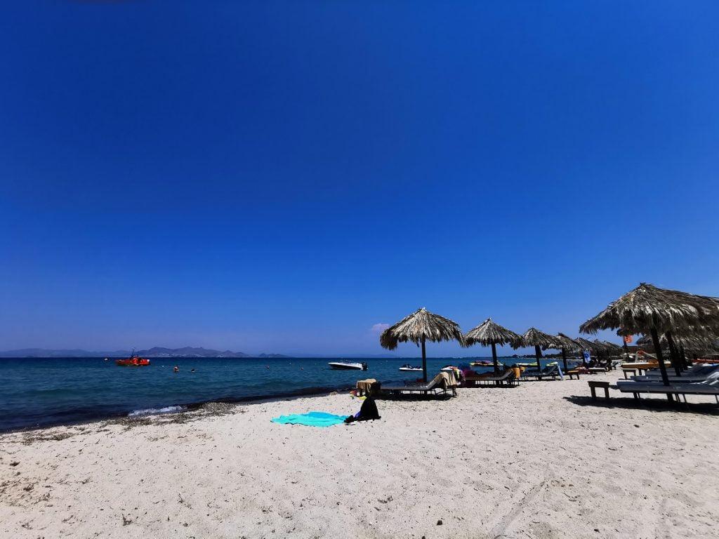 Spiaggia di Tigaki a Kos