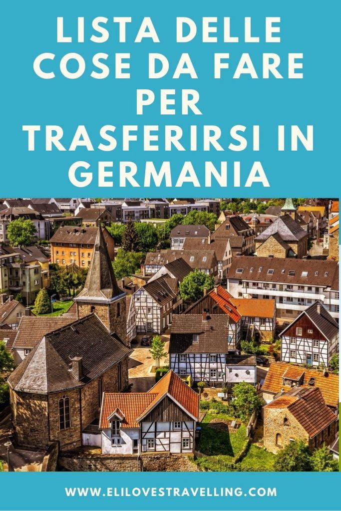 Trasferirsi in Germania: guida completa e consigli pratici 2