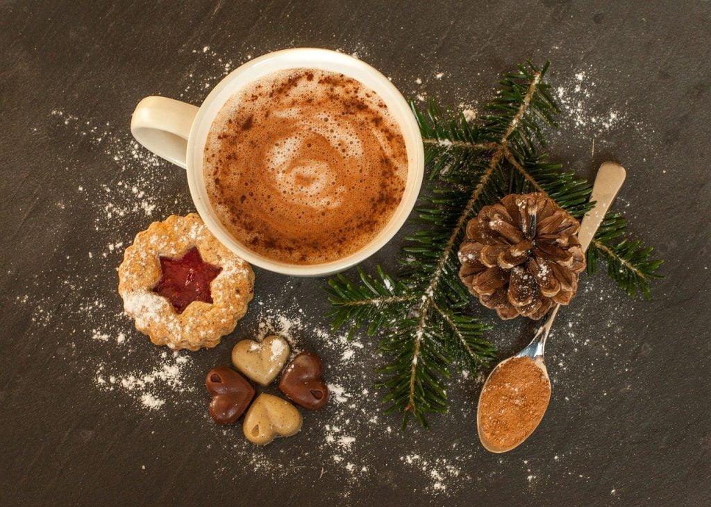 Cioccolata calda ai mercatini di Natale