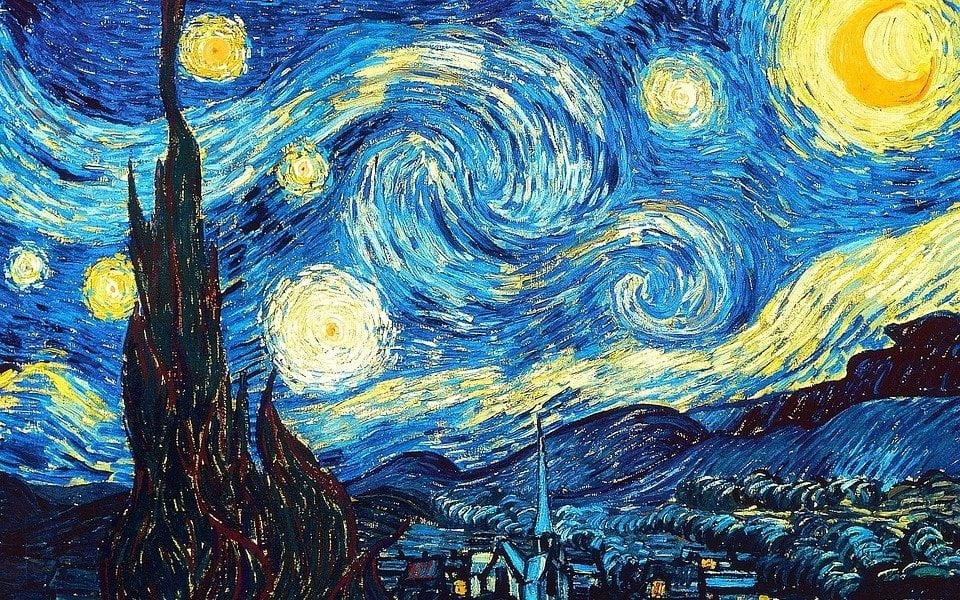 Notte stellata di Vincent van Gogh