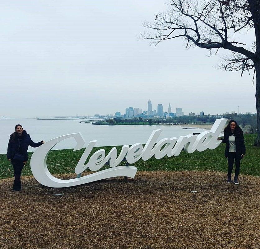 trasferirsi in America_Cleveland skyline