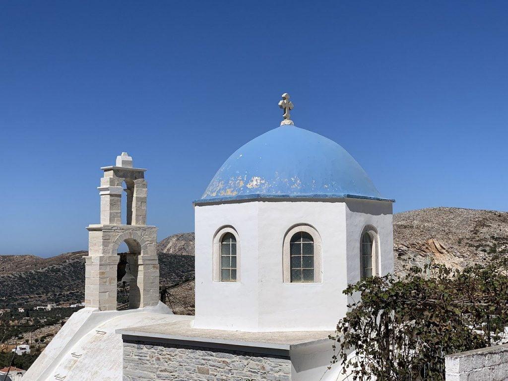 Naxos, immagine di una chiesa
