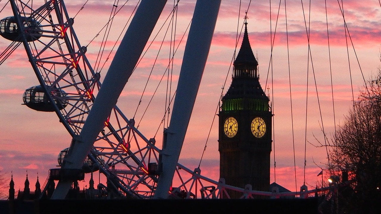 Come si vive a Londra_Big Ben e London Eye