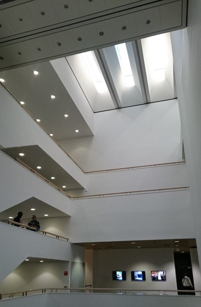 Mart museo Rovereto_interno
