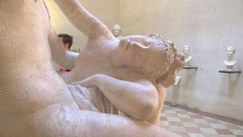 Particolare statua Canova