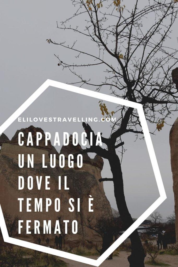 Grafica Pinterest_foto Cappadocia con scritta