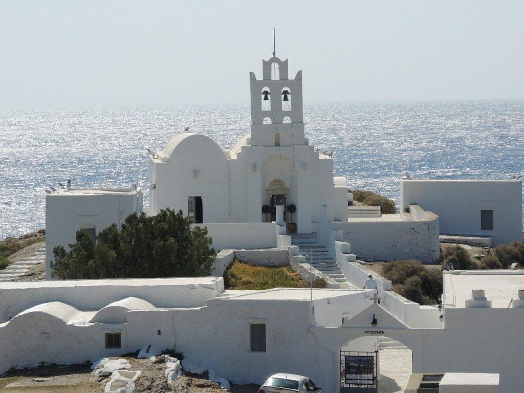 Chrissopigi Monastery Sifnos island Greece