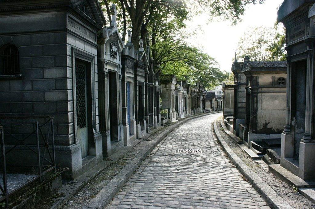 Cimitero Père Lachaise a Parigi