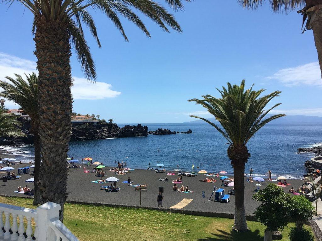 Playa de la Arena a Tenerife tra le spiagge più belle dell'isola