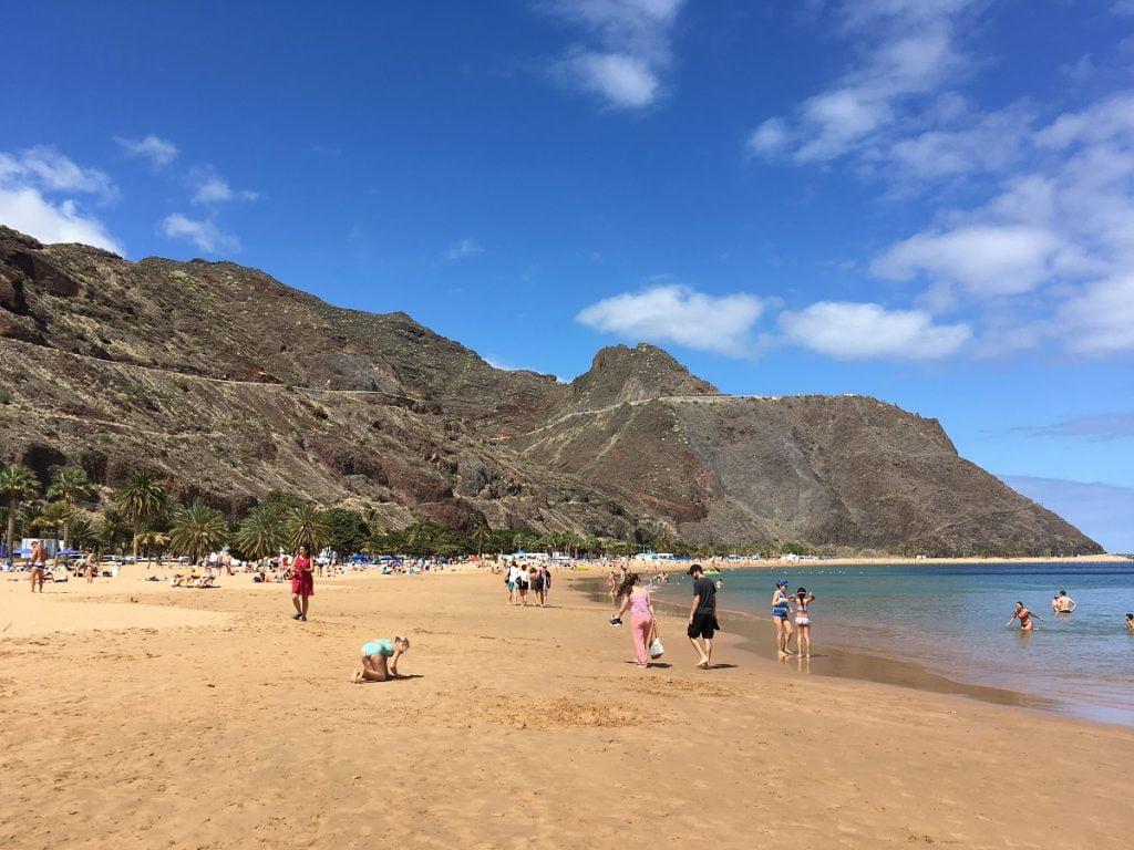 Playa de Las Teresitas: spiagge più belle di Tenerife