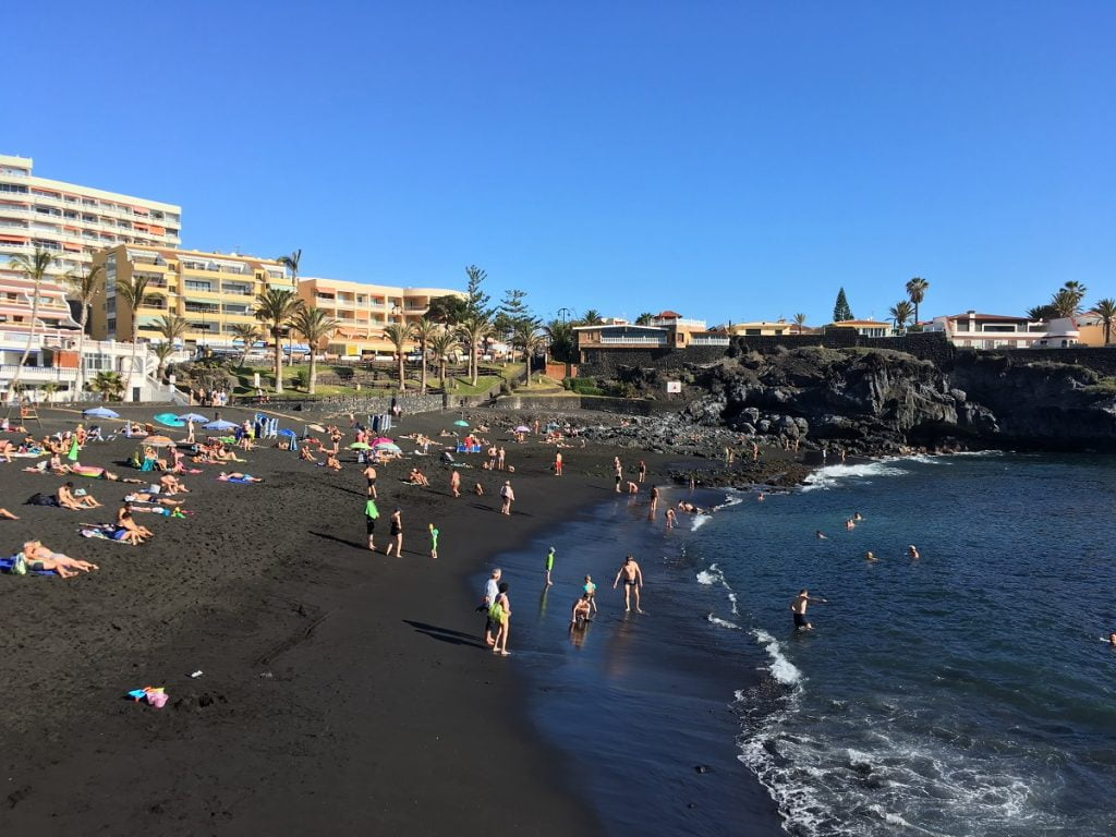 Playa de La Arena a Tenerife