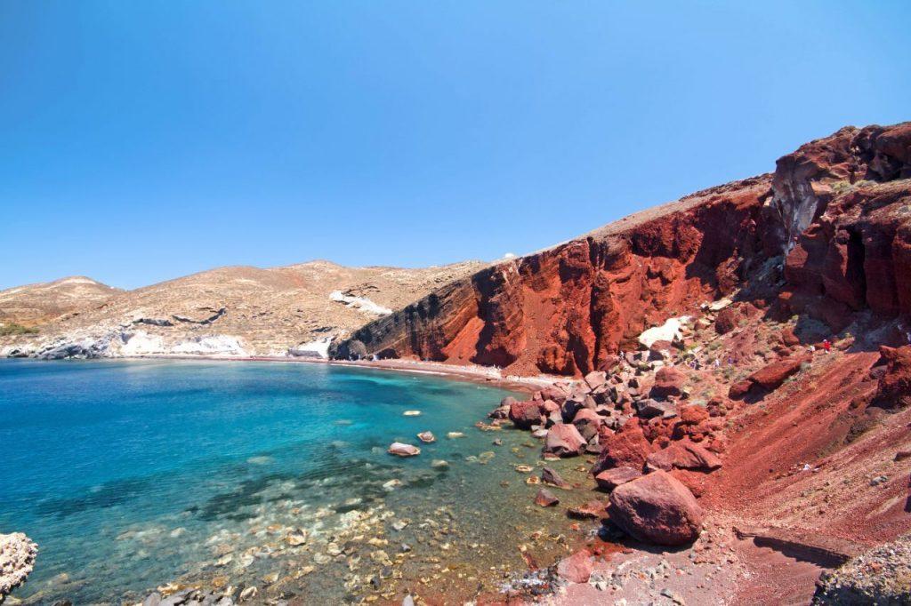 Red Beach_Santorini_più belle spiagge greche