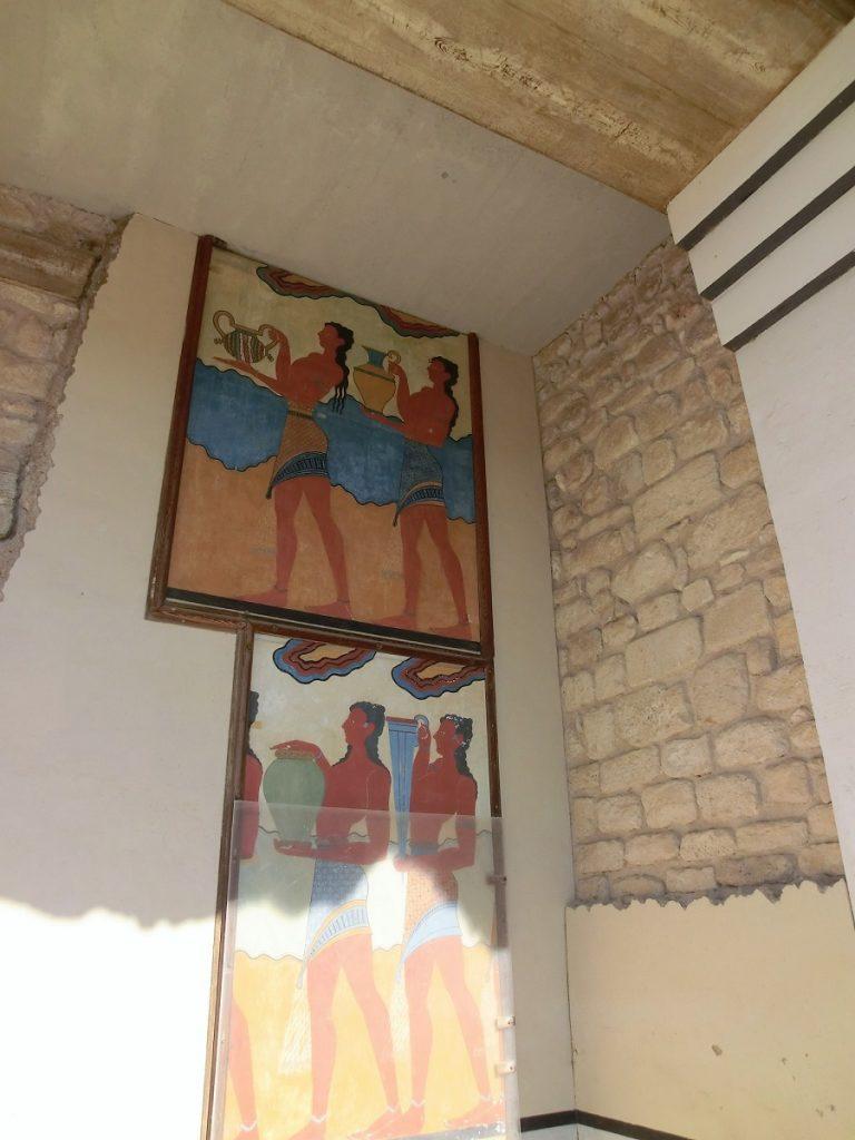 palazzo di cnosso affreschi