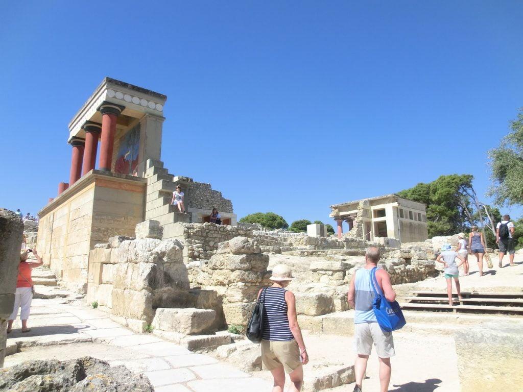 Creta: palazzo di cnosso