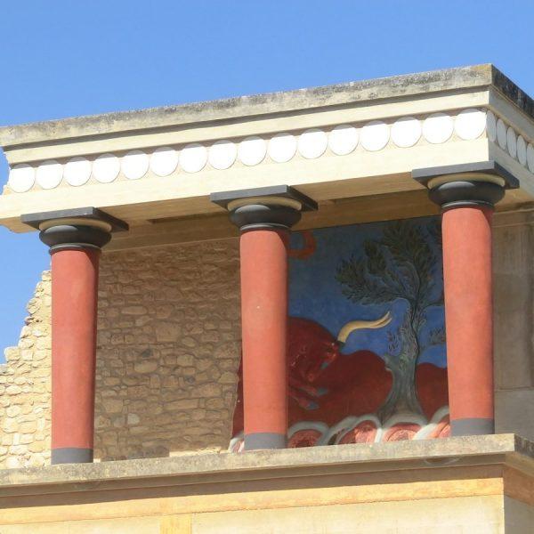 Creta: il palazzo di Cnosso e il mito del minotauro