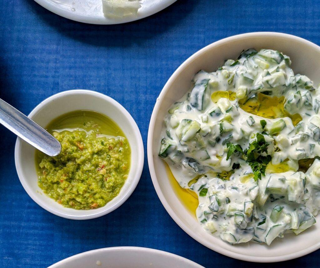 tzatziki piatto da non perdere in grecia