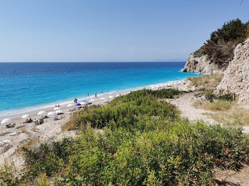 Milos una delle più belle spiagge a Lefkada